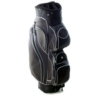 Ergo Golf 14 Black Way Dividing Top Cart Bag