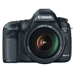 Canon EOS 5D Mark III Digital SLR with EF 24 105L IS USM Lens Kit