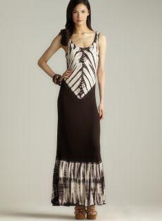 Romeo & Juliet Couture Ruffle Hem Tie Dye Maxi Dress Today $39.99