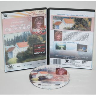 Weber Dorothy Dent Painting Oil Color Landscapes DVD