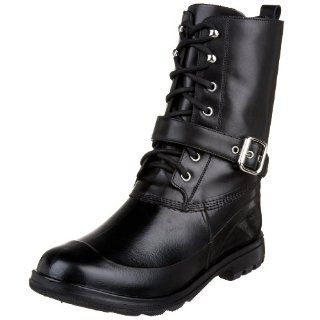 Ralph Lauren Mens Andrin Rubber/Leather Boot,Black,7 D Shoes