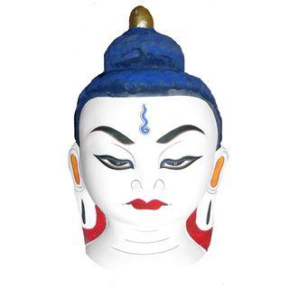 Small Paper Mache Buddha Mask (Nepal)
