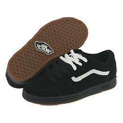 Vans Kids Fairlane (Youth/Adult) Black/White/Barbee