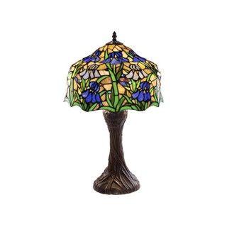Tiffany style Iris Table Lamp