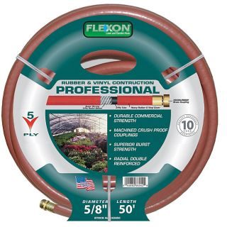 Flexon 50 foot Professional Garden Hose