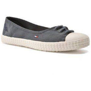 Tommy Hilfiger Lilly Womens Shoes Grey Sz 9.5 M Us Shoes