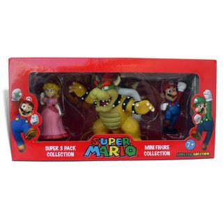 Super Mario Brothers 2 inch Super Mini figure Set