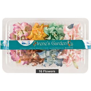 Blue Hills Studios 16 piece Fruit Punch Irenes Garden Box O