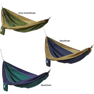 Parachute Silk Waterproof Two person Hammock with Stuff Sack