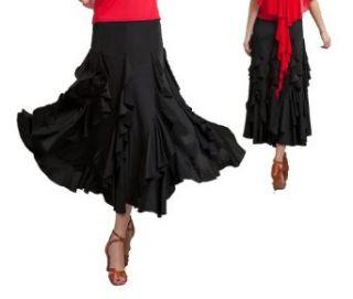 SGS08BK29 (waist 29 31) Womens Ballroom Latin Salsa