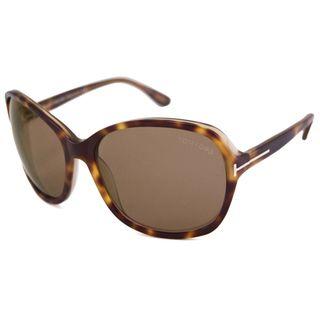 Tom Ford Womens TF0186 Sheila Square Sunglasses