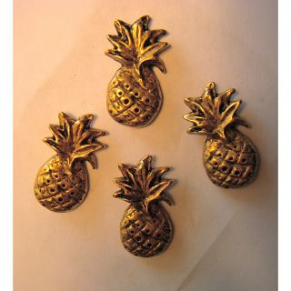 Jean Antique Gold Pineapple Push Pins (Set of 21)
