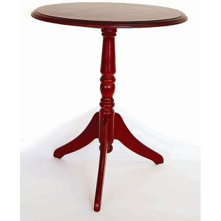 Tuscany 23 inch Red Round Table