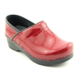 Sanita Womens Professional Patent Leather Occupational