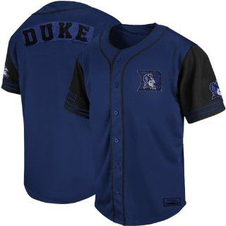 NCAA Duke Blue Devils Rally Baseball Jersey   Duke Blue