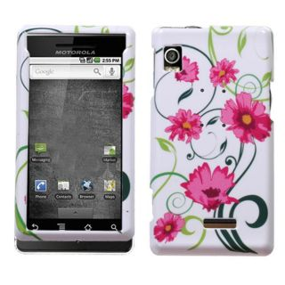 Motorola Droid A855 Lovely Flowers Design Protector Case