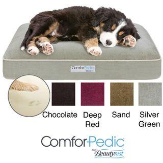 Simmons Comforpedic Deluxe Orthopedic Napper Pet Bed
