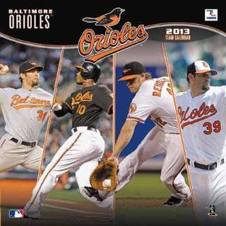 Baltimore Orioles 2013 12 x 12 Wall Calendar Sports