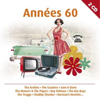 ANNEES 60   Compilation   Achat CD COMPILATION pas cher
