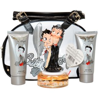 Betty Boop Angel Womens 4 Piece Gift Set