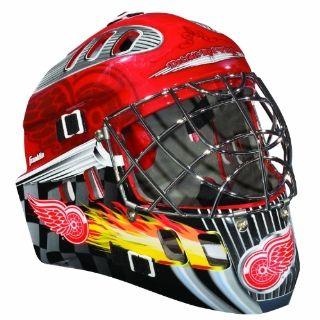 NHL Detroit Red Wings SX Comp GFM 100 Goalie Face Mask