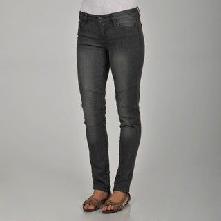 Apart Womens Grey Motocross Skinny Jeans
