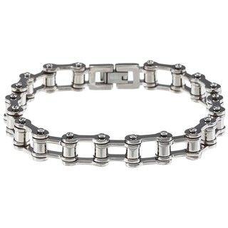 Mens Titanium Chain Link Bracelet