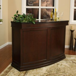 Lynn 58 inch Wood Home Bar
