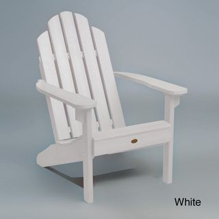 Highwood Eco Friendly Synthetic Wood Classic Adirondack Beach Chair