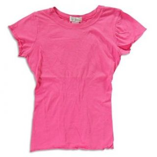 So Nikki   Girls Ruched T Shirt, Pink 21774 10/12