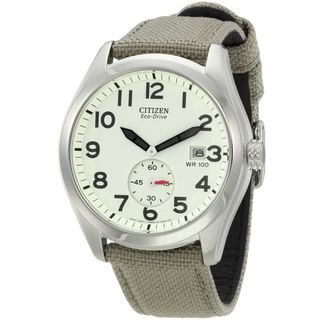Citizen Mens Stainless Steel Eco Drive Sport Watch