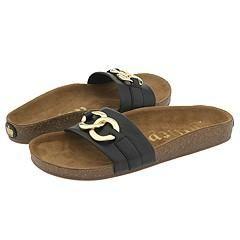 Juicy Couture Kids Larissa Black Sandals   Size 11 T