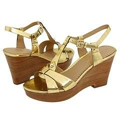 Franco Sarto Electra Oro Brush Sandals