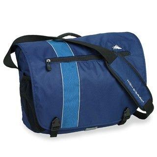 High Sierra Rufus Messenger Blue Velvet Messenger Bag