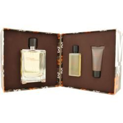Hermes Terre Dhermes Mens Three piece Fragrance Set