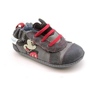 Stride Rite Boys MS Mickey Mouse Leather Athletic Shoe