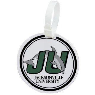 Jacksonville University Dolphins Logo Golf Bag Tag Sports