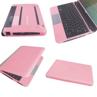 SKQUE Dell Mini 10/ 10V Pink Laptop Silicone Skin Case