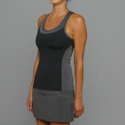 SportHill Womens Madison Black/ Pewter Fitness Tank Top