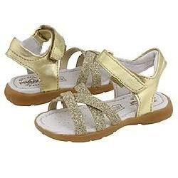 Primigi Kids Sabine Gold Metallic Leather Sandals   Size 4 Infant