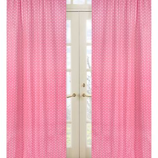 Pink Song Bird 84 inch Curtain Panel Pair