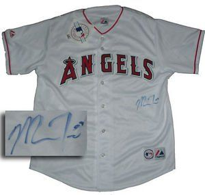Mike Trout Signed Los Angeles Angels Replica Jersey