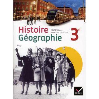 JEUNESSE ADOLESCENT Histoire géographie ; 3ème ; manuel de lélève