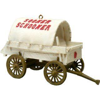 NCAA Oklahoma Sooners Sooner Schooner Mascot Ornament