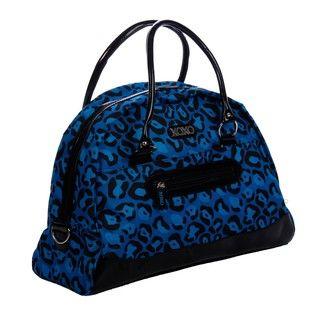 XOXO Bright Leopard 20 inch Fashion Dome Duffel Bag