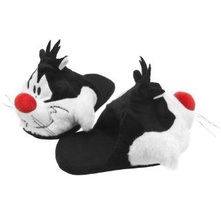 Looney Tunes   Sylvester Plush Juniors Slippers Shoes