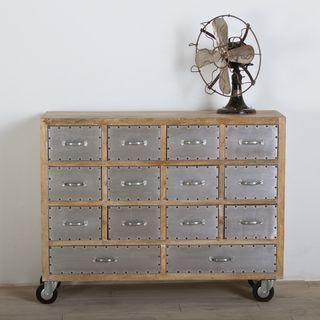 Amritsar Reclaimed Wood 14 drawer Dresser (India)