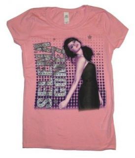 Selena Gomez Singer Pose Sparkle Juniors Girls Youth T