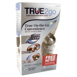 True2Go Blood Glucose Monitor Kit