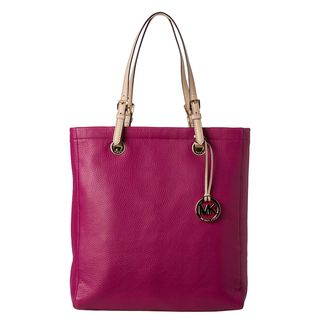 MICHAEL Michael Kors Jet Set Peony Leather Tote Bag